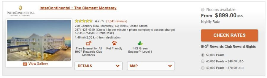 IHG Monterey