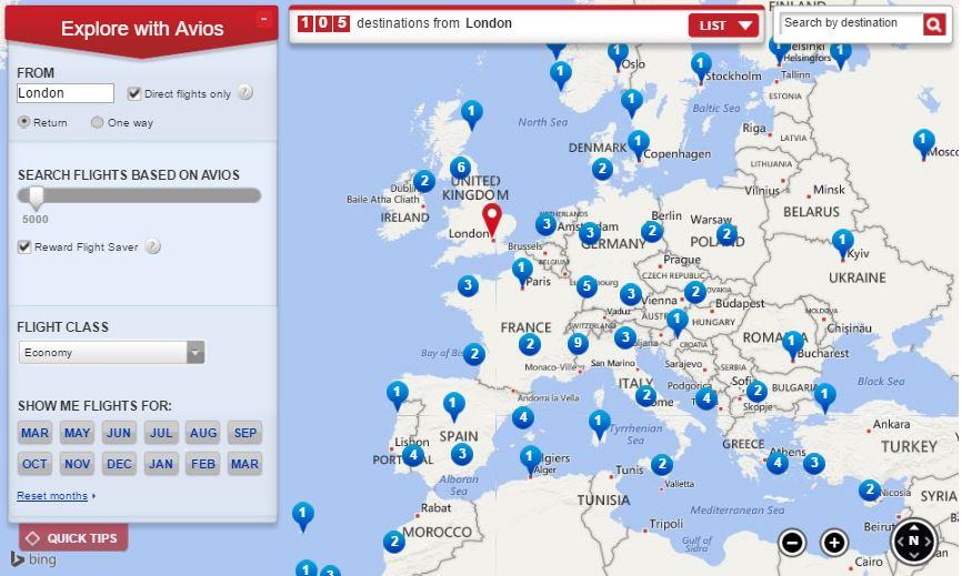 RFS Map