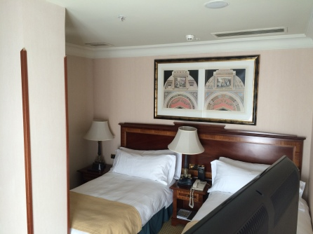Suite living room at the InterContinental Madrid