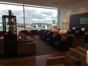 The lounge in AMS
