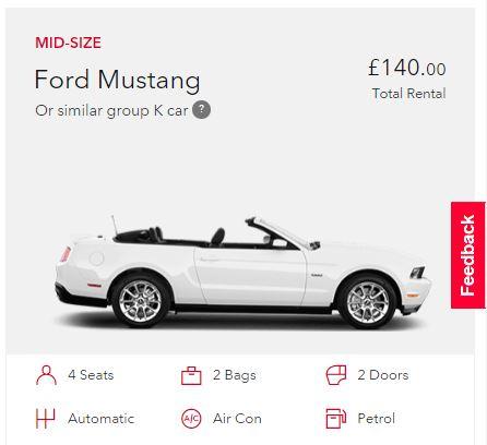 Avis Mustang - not logged 1
