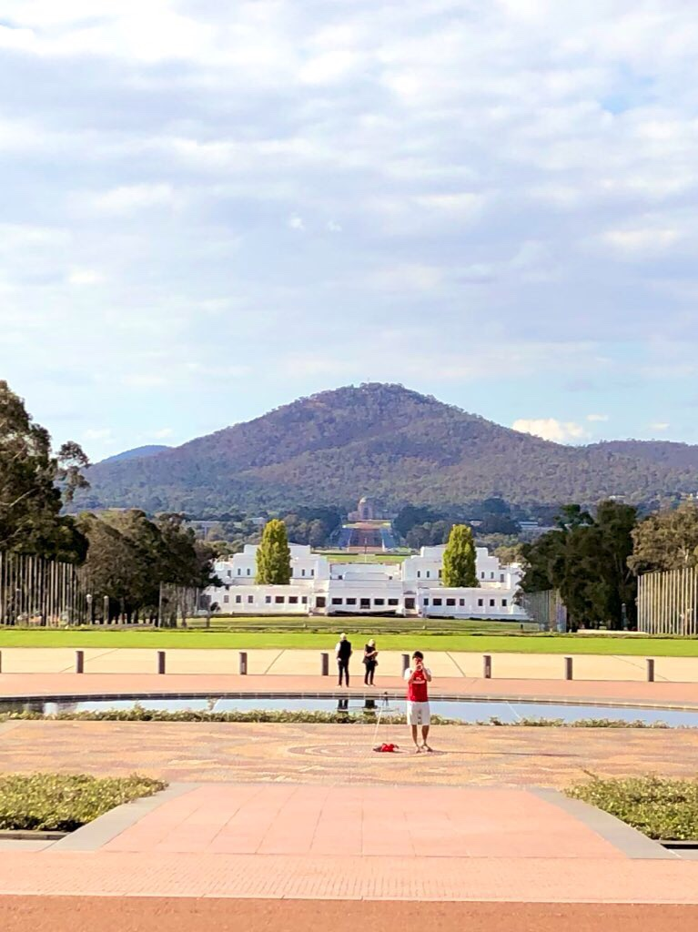 Canberra? Why on earth would you want to go to Canberra
