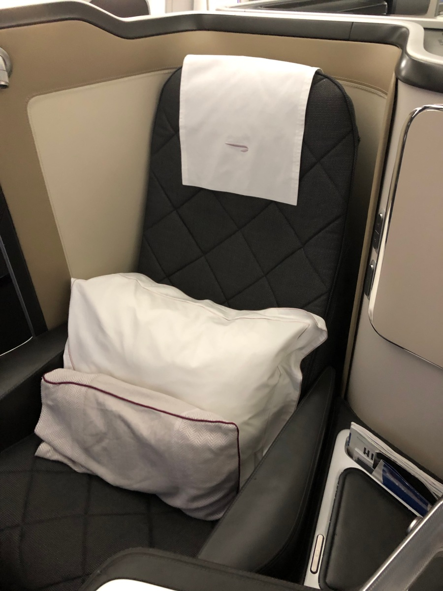 Review: Doha to London in First on British Airways – Mister Airmiles
